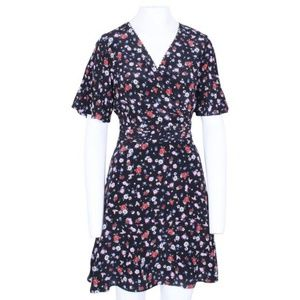 The Kooples Floral Silk Dress